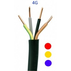 CABLE RIGIDE U1000R02V 4G (AU METRE)