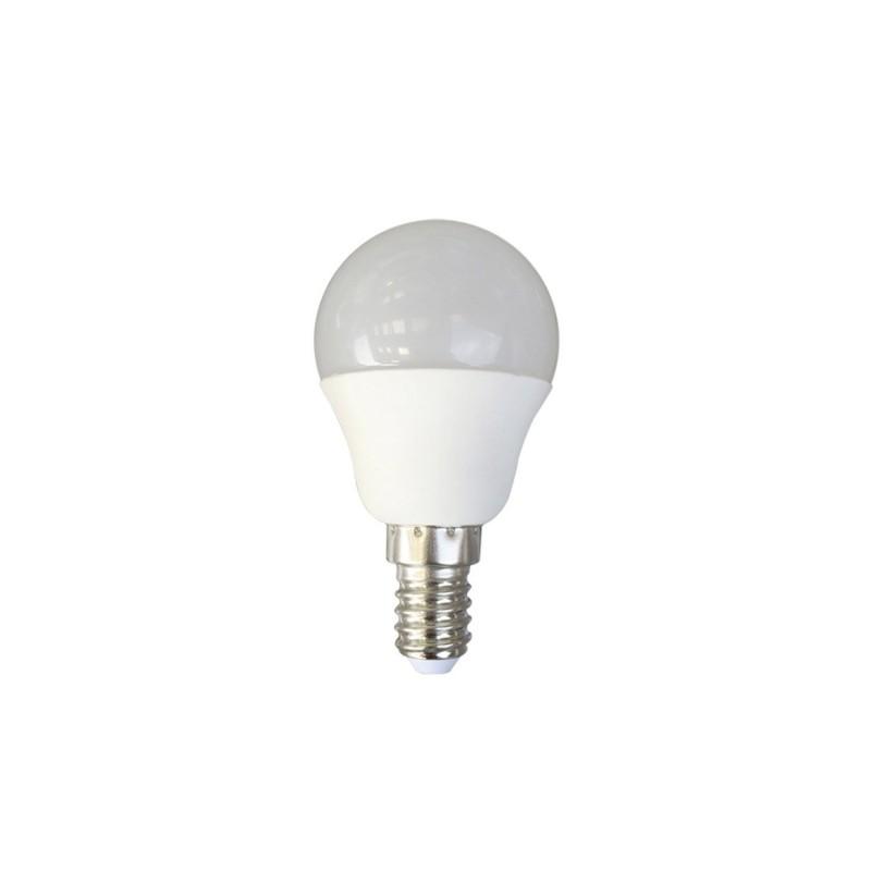 ampoule led mini spherique opaque e14 5 watts unit. Black Bedroom Furniture Sets. Home Design Ideas