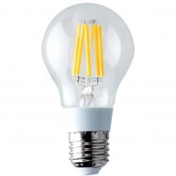 AMPOULE LED FILAMENT FLAMME CLAIR E27 - 6W (UNITE)