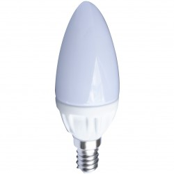 AMPOULE LED FLAMME OPAQUE E14 4 Watts (UNITE)