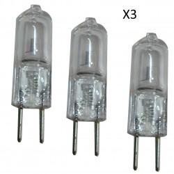 AMPOULE HALOGENE CAPSULE 12V 16W G4 (Blister X3)