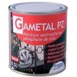 Peinture Antirouille GAMETAL PZ  (UNITE)