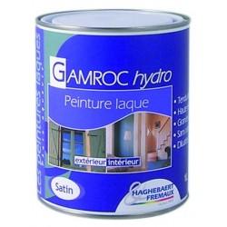 LAQUE GAMROC HYDRO : PEINTURE-LAQUE ALKYDE POLYURETHANE SATIN (UNITE)