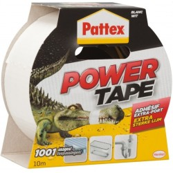 PATTEX POWER TAPE 10MX50MM BLANC (UNITE)