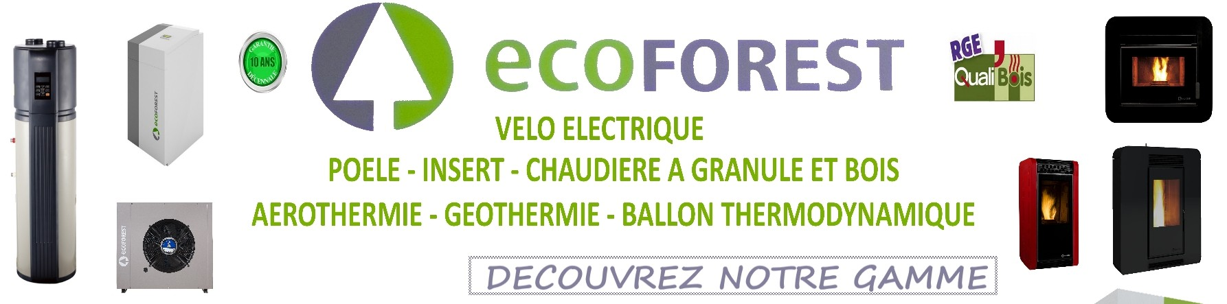 Gamme ecoforest