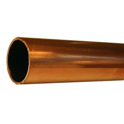 TUBE CUIVRE ECROUI (AU METRE)