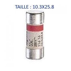 FUSIBLE TAILLE 10.3X25.8