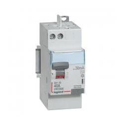 INTER DIFF DX 30mA - 40A 2P - 230V  (UNITE)
