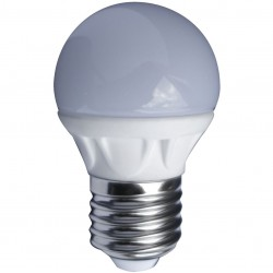 AMPOULE LED MINI SPHERIQUE OPAQUE E27 5 Watts (UNITE)