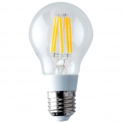 AMPOULE LED FILAMENT FLAMME CLAIR E27 - 6W (UNITE)