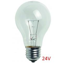 AMPOULE VERRE E27 24V - 60W (UNITE)