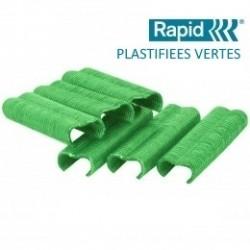 AGRAFES PLASTIFIEE (BOITE)