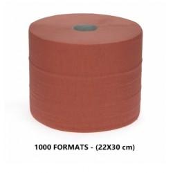 ROULEAU OUATE CHAMOIS 2PLIS 24X25 1000 formats (UNITE)