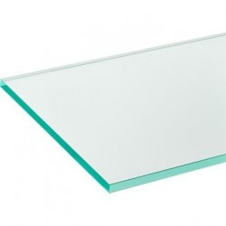 VERRE TRANSPARENT (AU M²)