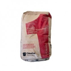 CIMENT CIMALUX 25 KG (UNITE)