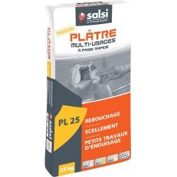 PLATRE MANUEL TRADITIONNEL MULTI-USAGE 25KG (UNITE)