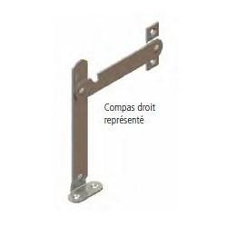 COMPAT D'ARRÊT AVEC EQUERRE ET PLAQUETTE (UNITE)