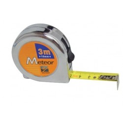RUBAN DE MESURE METEOR 3 M X 16 MM (UNITE)