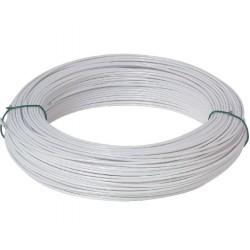 Fil de tension galvanisé Blanc 20 M (unité)