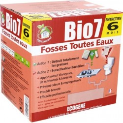 BIO 7 FOSSES TOUTES EAUX 6 MOIS (UNITE)