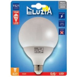 AMPOULE LED GLOBE Ø100MM E27 75W