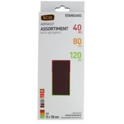 ASSORTIEMENT PATINS PERFORE AUTO-AGRIPPANT 93x185 (unité)