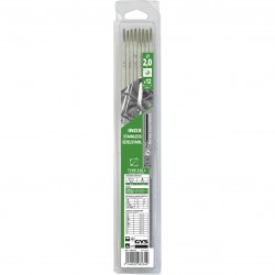 Blister 12 Électrodes inox 316L Ø 2,0 mm
