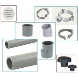 RACCORD ET TUYAU PVC / FUMISTERIE / VENTILATION